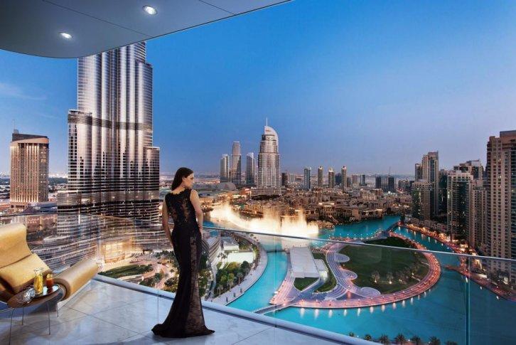 Дубай квартира халифа цены черногория вид на жительство
