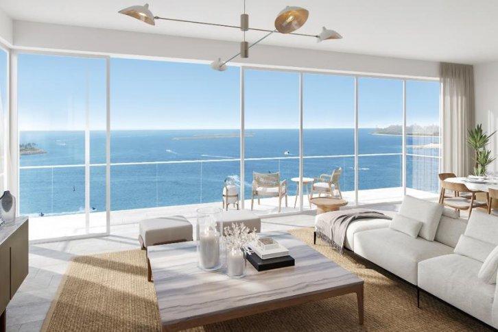 Квартира с видом на море дубай виллы в лимассоле