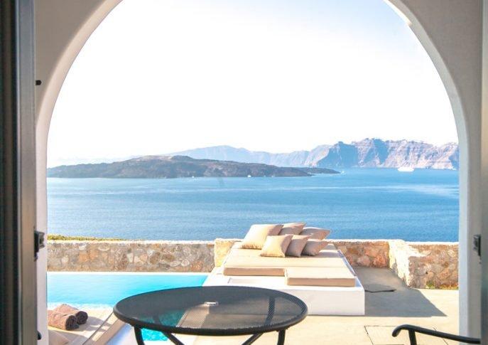 санторини греция купить дом