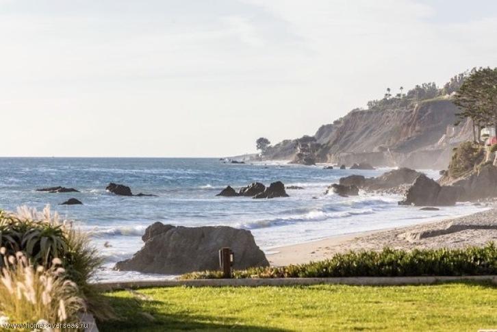 дома на берегу океана в калифорнии
