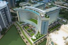 Новый жилой комплекс на Palm Jumeirah.