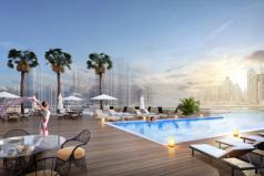 Новые апартаменты в Dubai Marina.