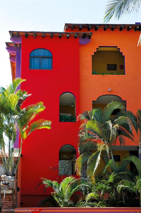 дом в мексике