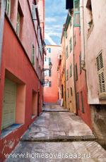 Колоритные дома в Бурано (Венеция)