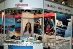 Выставочный стенд кипрской девелоперской компании Cybarco